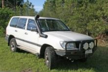 Airflow Snorkel For Toyota Landcruiser 100 Series