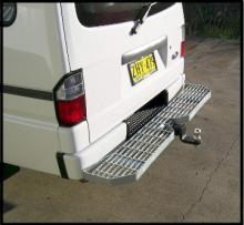 Rear Bar Protector For Ford Econovan