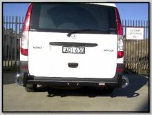Rear Bar Protector For Mercedes Vito