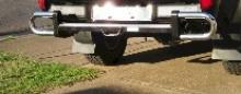 Rear Bar Protector For Toyota 4 Runner
