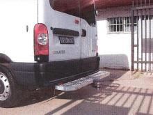 Telstra Type Rear Bars / Rear Step to suit Ford Transit