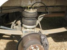 Airbag Suspension to suit the Toyota Coaster